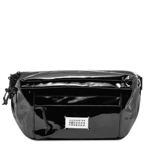 Maison Margiela 11 Oversized Patent Leather Waist Bag