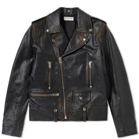 Saint Laurent Used Biker Jacket by Saint Laurent