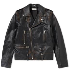 Saint Laurent Used Biker Jacket by Saint Laurent