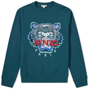 Kenzo Tiger Embroidered Sweat