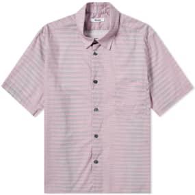 Très Bien Short Sleeve Tiger Stripe Shirt