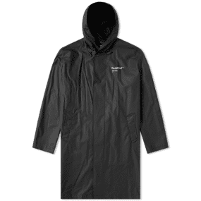Off White Quote Raincoat by Off White