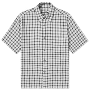 Très Bien Short Sleeve Check Shirt