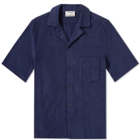 Acne Studios Short Sleeve Jeff Towel Vacation Shirt by End.