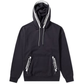 Wooyoungmi Oversized Branding Taped Hoody by Wooyoungmi