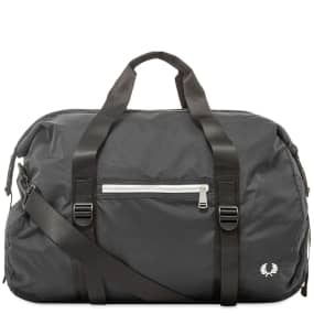 Fred Perry Authentic Roll Top Barrel Bag
