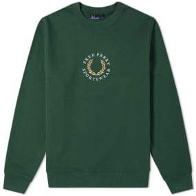 Fred Perry Fleeceback Sweat by End.