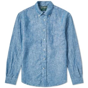 Gitman Vintage Chambray Linen Shirt