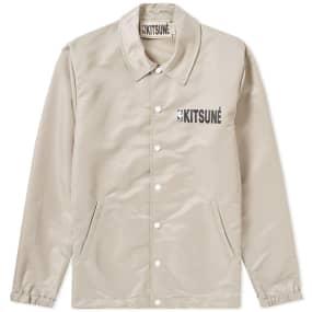 Maison Kitsuné X Nba Coach Jacket by Maison Kitsune