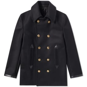 Givenchy Wool Pea Coat by End.