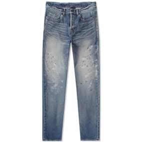 Saint Laurent Painted Slim Fit Jean
