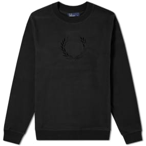 Fred Perry Embroidered Laurel Sweat