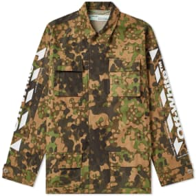 Off-White Camo Field Jacket