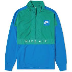 Nike Half Zip Air Jacket (Green, Blue & Anthracite) | END.