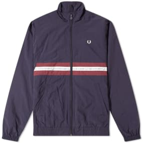Fred Perry Sports Taped Shell Jacket