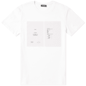 Raf Simons Drugs Cover Tee