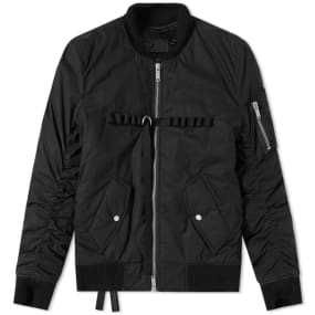 Unravel Project Military Bomber Jacket