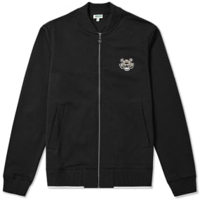 Kenzo Tiger Logo Zip Bomber Jacket by End.