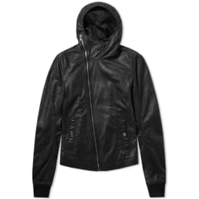 Rick Owens Bullet Leather Jacket by Rick Owens
