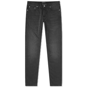 Alexander McQueen Slim Embroidered Pocket Jean