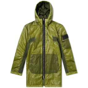 c042a95dca Stone Island Garment Dyed Popover Hoody Pistachio | END.