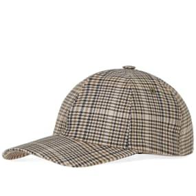 A.P.C. Stan Check Cap