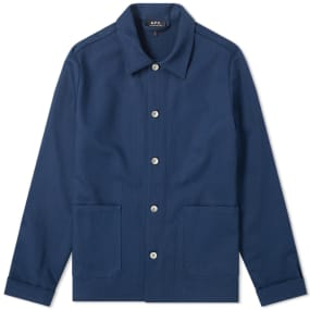 A.P.C. Kerlouan Bedford Canvas Work Jacket