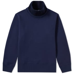 Acne Studios Flux Heavy Jersey Rib Turtle Neck by End.