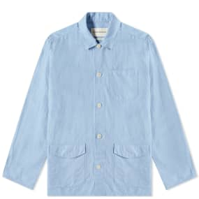Oliver Spencer Linen Hockney Chore Jacket
