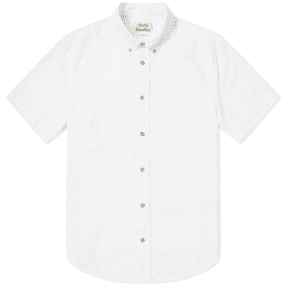 Acne Studios Isherwood Soft Poplin Short Sleeve Shirt