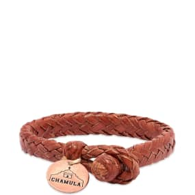 Chamula Wide Flat Woven Bracelet