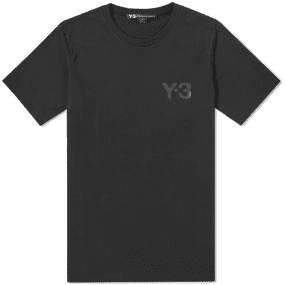 Y 3 Classic Logo Tee by End.