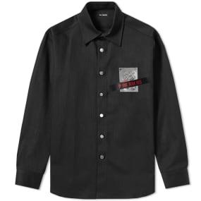 Raf Simons Tape and Patch Denim Shirt