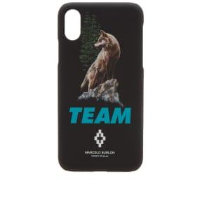 Marcelo Burlon Team I Phone X Case by Marcelo Burlon