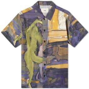 Folk Gabe Printed Vacation Shirt