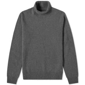 Maison Margiela 14 Sleeve Detail Roll Neck Knit