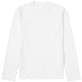 Helmut Lang Long Sleeve Overlay Logo Tee