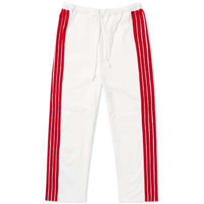 DIMA LEU Cropped Wide Fit Stripe Track Pant
