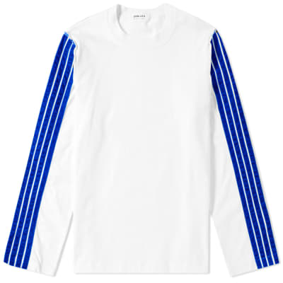 DIMA LEU Long Sleeve Oversize Stripe Tee