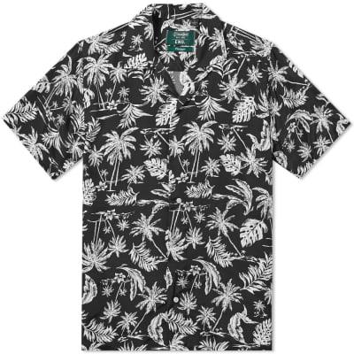 Gitman Vintage x END. Short Sleeve Floral Shirt