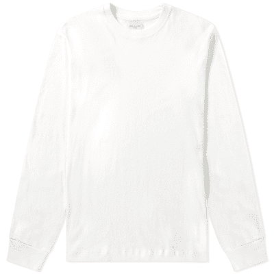 John Elliott Long Sleeve Silk Blend Classic Tee