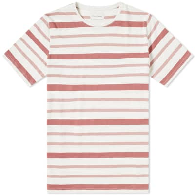 Oliver Spencer Conduit Mixed Stripe Tee