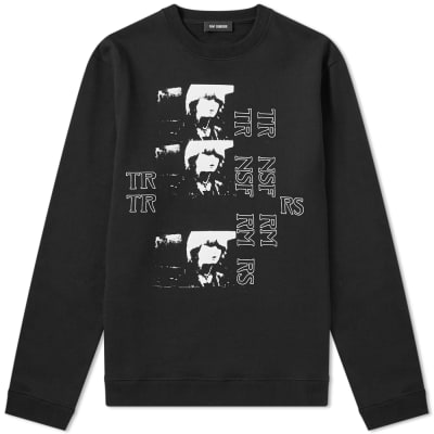Raf Simons Transformers Crew Sweat