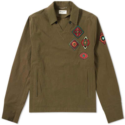 Saint Laurent Military Smock