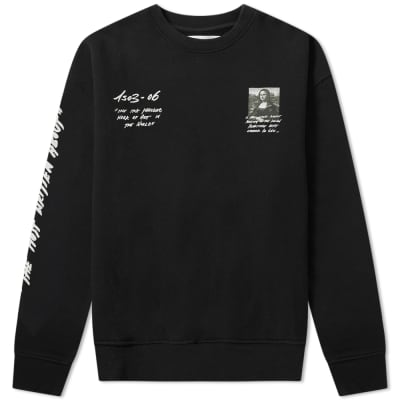 Off-White Mona Lisa Over Crew Sweat