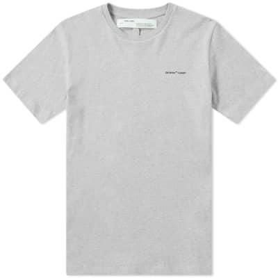 "Off-White ""Logo'' Slim Tee"