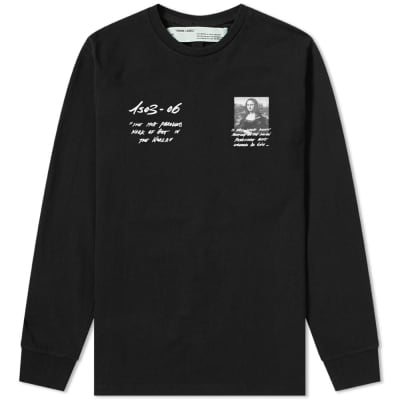 Off-White Long Sleeve Mona Lisa Tee