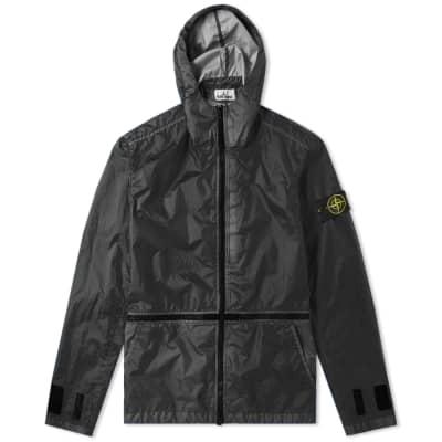 Stone Island Membrana 3L TC Zip Hooded Shell Jacket