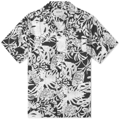 Carhartt WIP Short Sleeve Tiki Mono Shirt