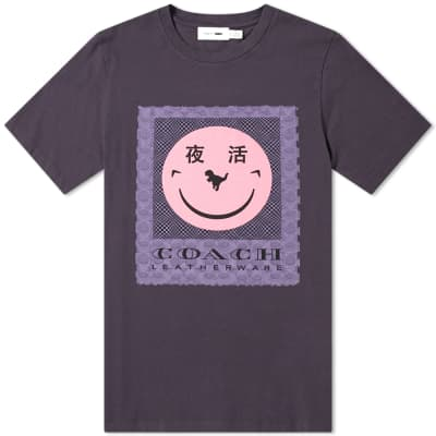 Coach Yeti Out Signature Rexy Face Tee